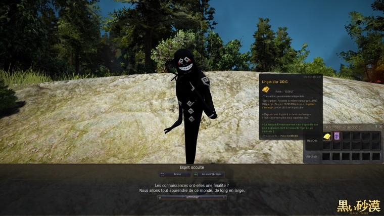 Black Desert Online 380 point dénergie atteind 2