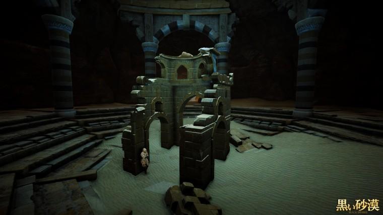 Black Desert Online anciennes ruines du château de valencia 0