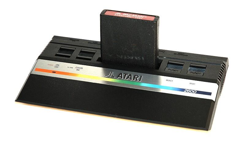 Atari 2600 disquette pac man