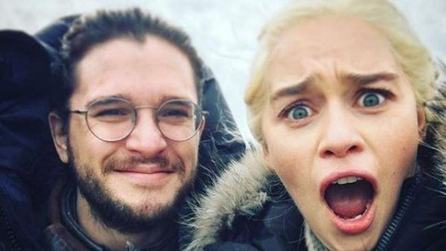 Game Of Thrones - fin de Tournage