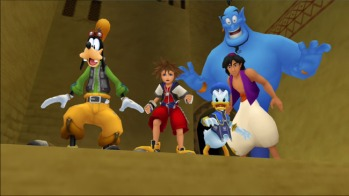 Kingdom Hearts Aladin
