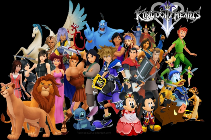 Kingdom Hearts All Personages