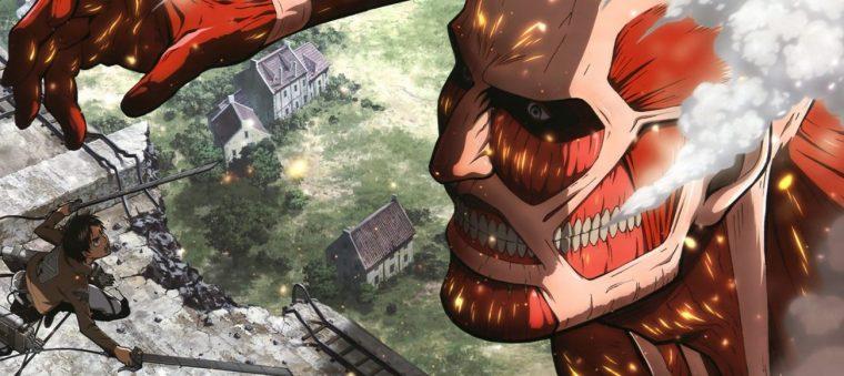 L'attaque des titans le titan collosale