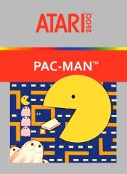 Pac Man Atari 2600 Pochette