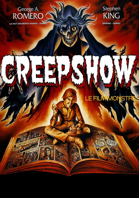 Creepshow affiche 1982