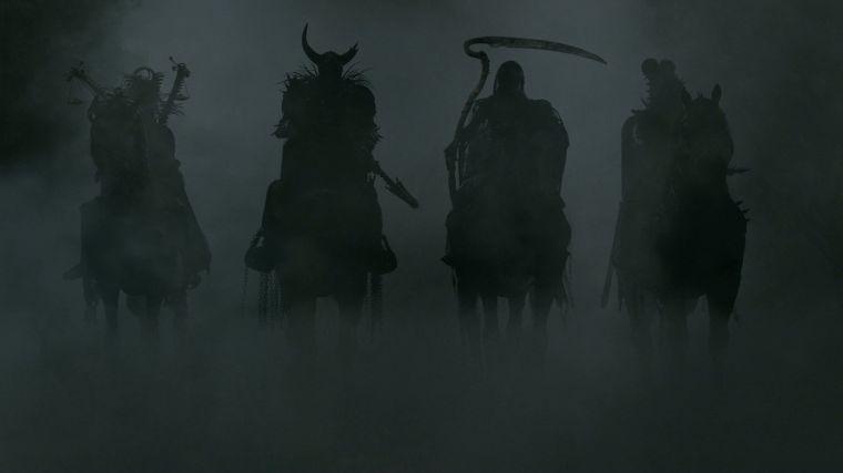 the mist la série les 4 chevalier de l'apocalypse