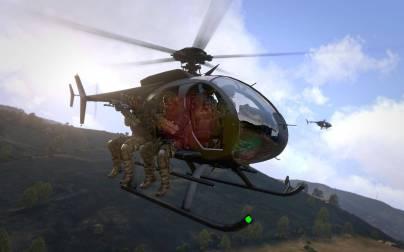 arma-3-hélicoptère de transport