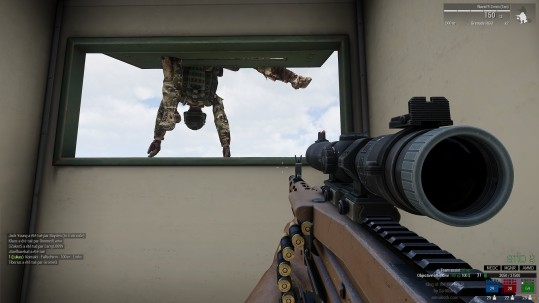 arma 3 un petit coucou par la fenêtre