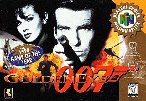 Goldeneye 007 Nitendo 64