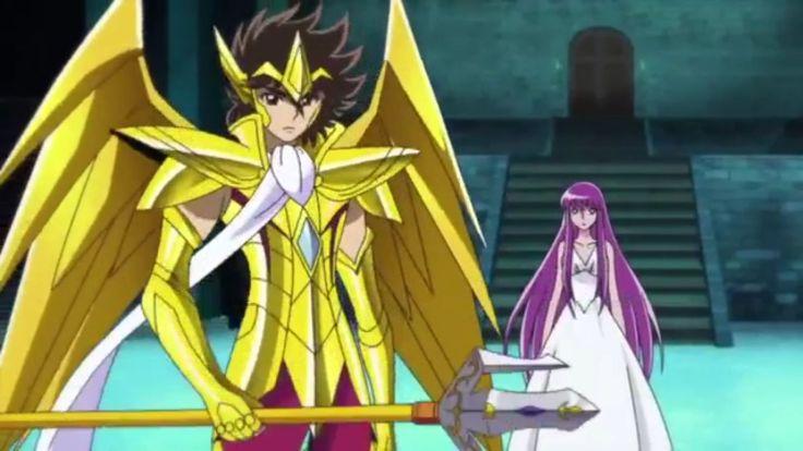 Saint Seiya Omega Athena Et seya