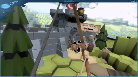 the longbow vr dans the lab