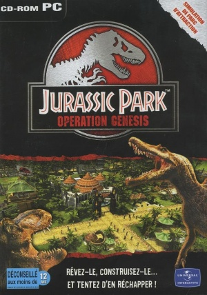 Jurassic Park Operation Genesis pochette du jeu