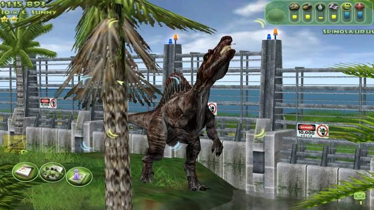 jurassic park operation genesis spinausaure