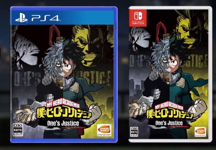 My Hero Academia Jeux Vidéo Ps4 Nitendo Switch