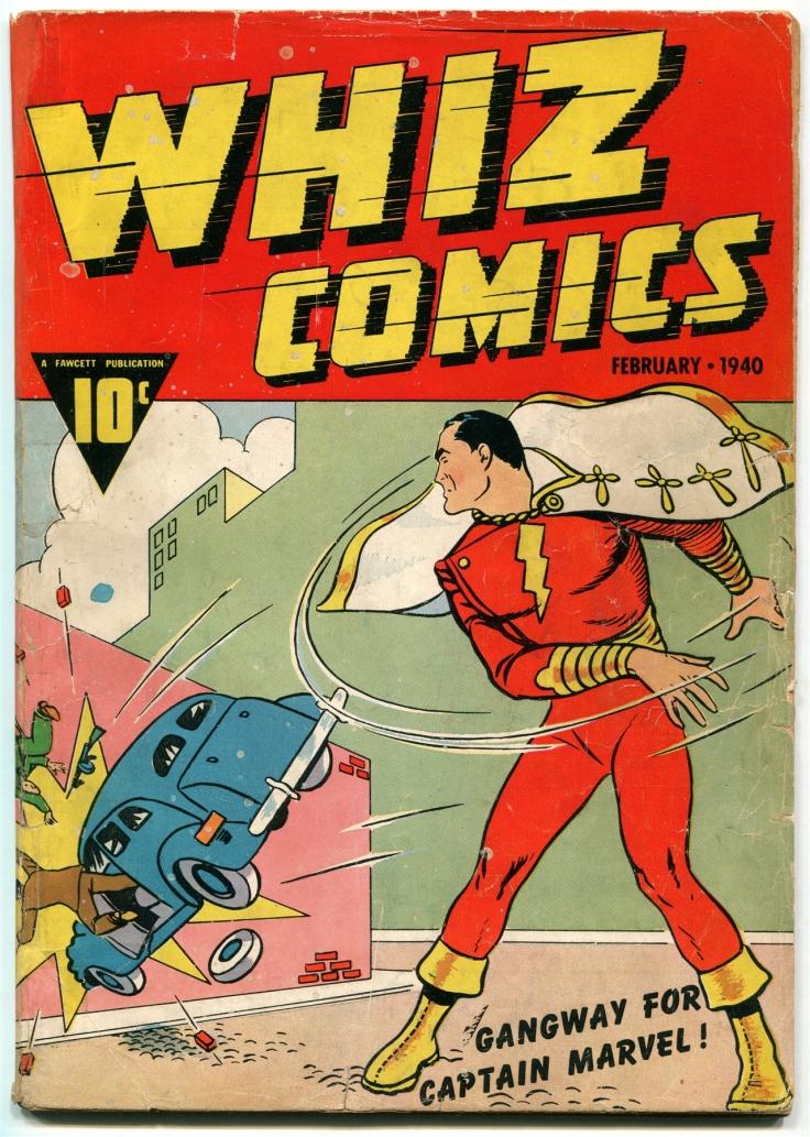 Whiz Comics - Captain Marvel