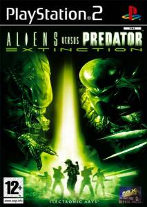Alien VS Predator Extinction Pochette Ps2
