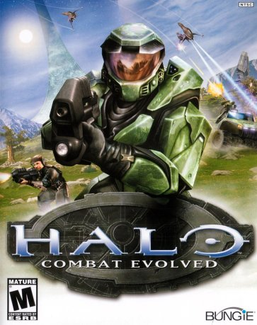 Halo Combat Evolved Pochette