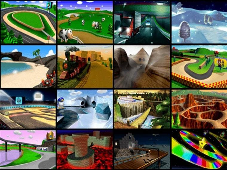 Mario Kart 64 All Circuit
