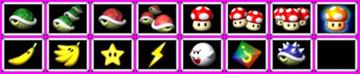 Mario Kart 64 All Item