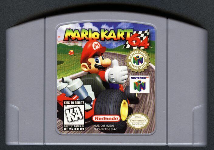 Mario Kart 64 Cartouche N64