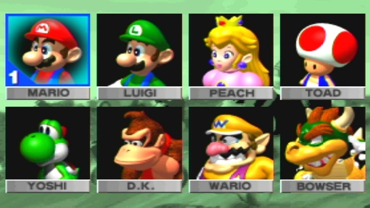 Mario Kart 64 Personage