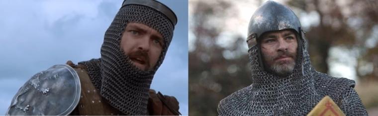 Robert-the-Bruce-Braveheart vs Robert-the-Bruce-Outlaw King