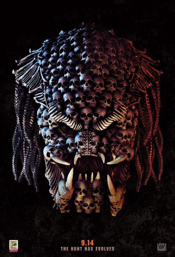 The-Predator-Photo-Affiche-Comic Com-2018