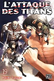 Attack On Titan Tome 19