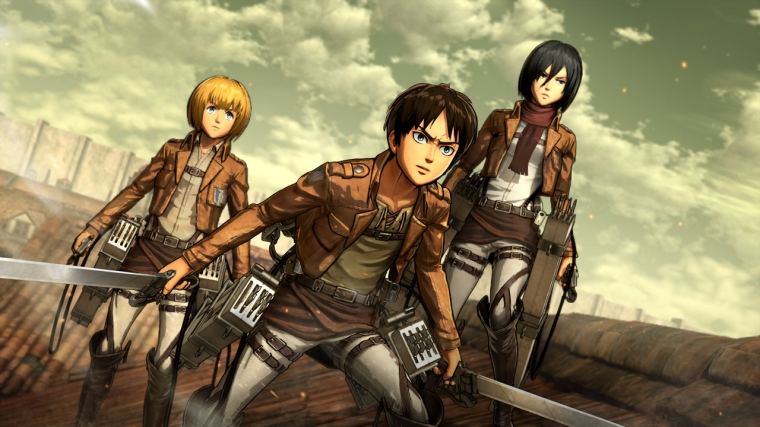 Attack On Titan Wing Of Freedom 05