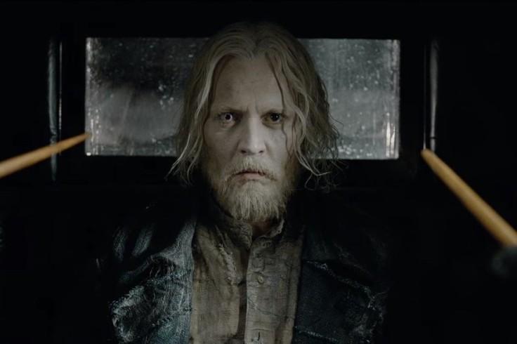 Johnny Depp- Les Animaux  Fantastique 2
