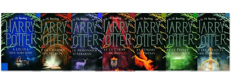 Harry Potter livres