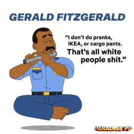 Paradise PD Gerald Fitzgerald