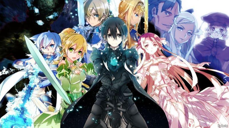 Sword Art Online Wallpaper Arc Alicization 03