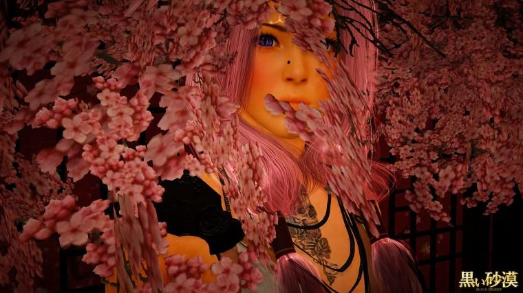 black desert online vakyrie thème sakura 3