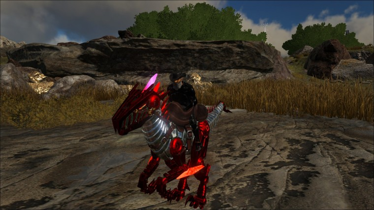 ARK Survival Evolved Iron Raptor