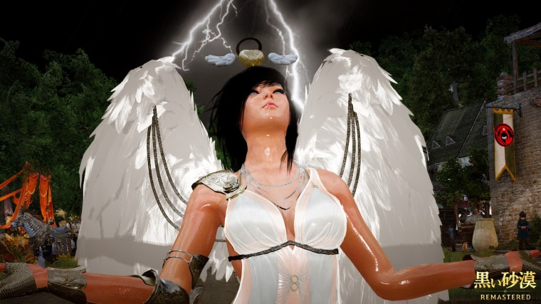 Black desert online angel