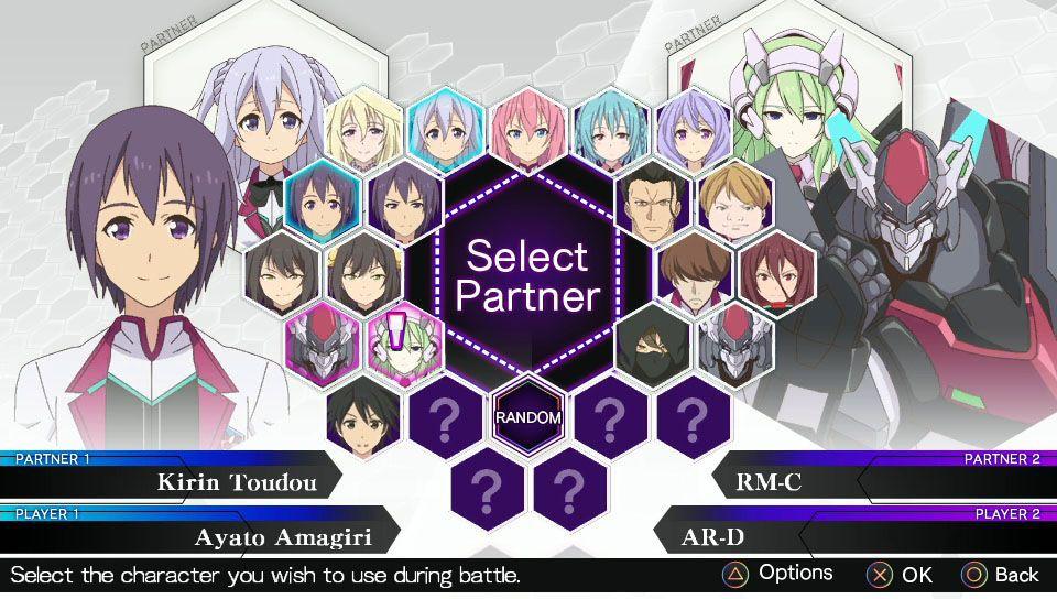 The Asterisk Gakusen toshi Asterisk hōka kenran personage select