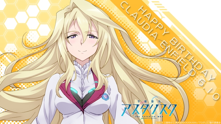 The Asterisk War Claudia Enfield