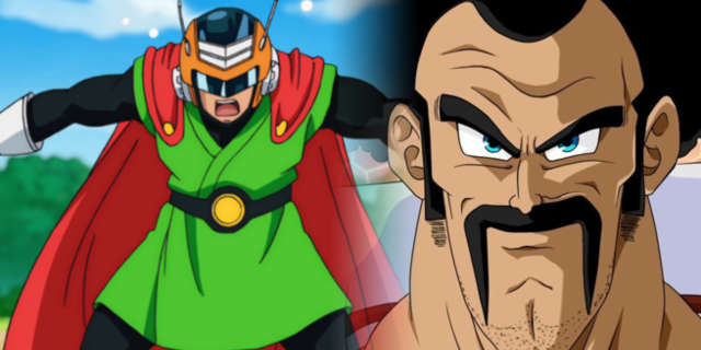Dragon Ball Super Satan et great saiyaman