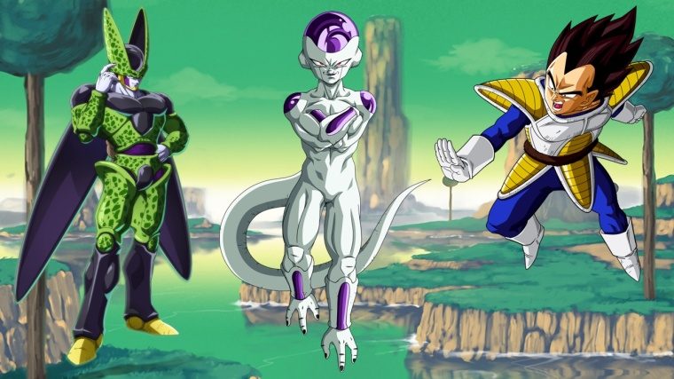 Dragon Ball Z Budokai 1 Scénario alternatif Vgetea Cell Freezer