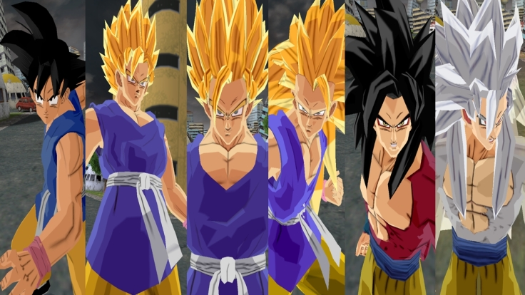 Dragon Ball Z Budokai 1 Wallpaper 02
