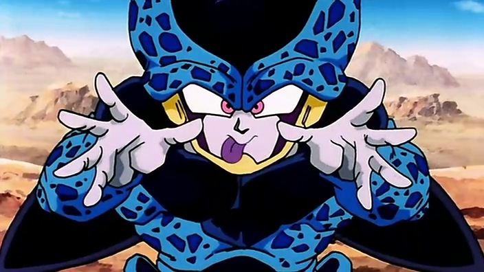 dragon ball z cell junior