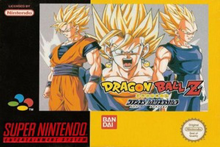 dragon ball z hyper dimension snes