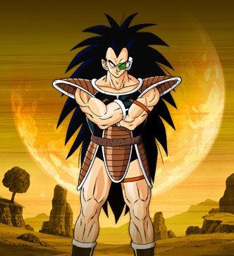 dragon ball z Raditz