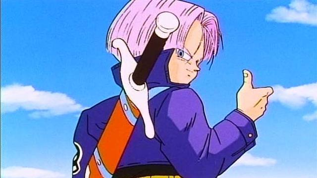 Dragon Ball Z Trunks du futur