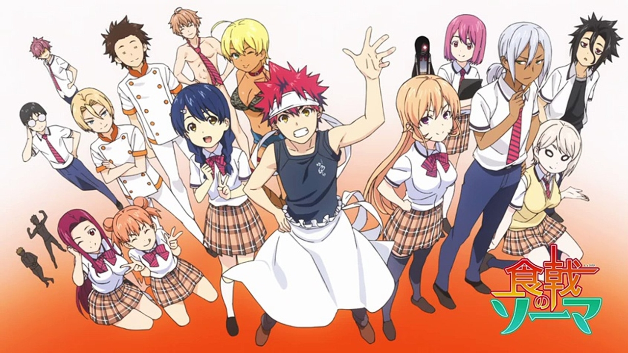 Food Wars Wallpaper 01