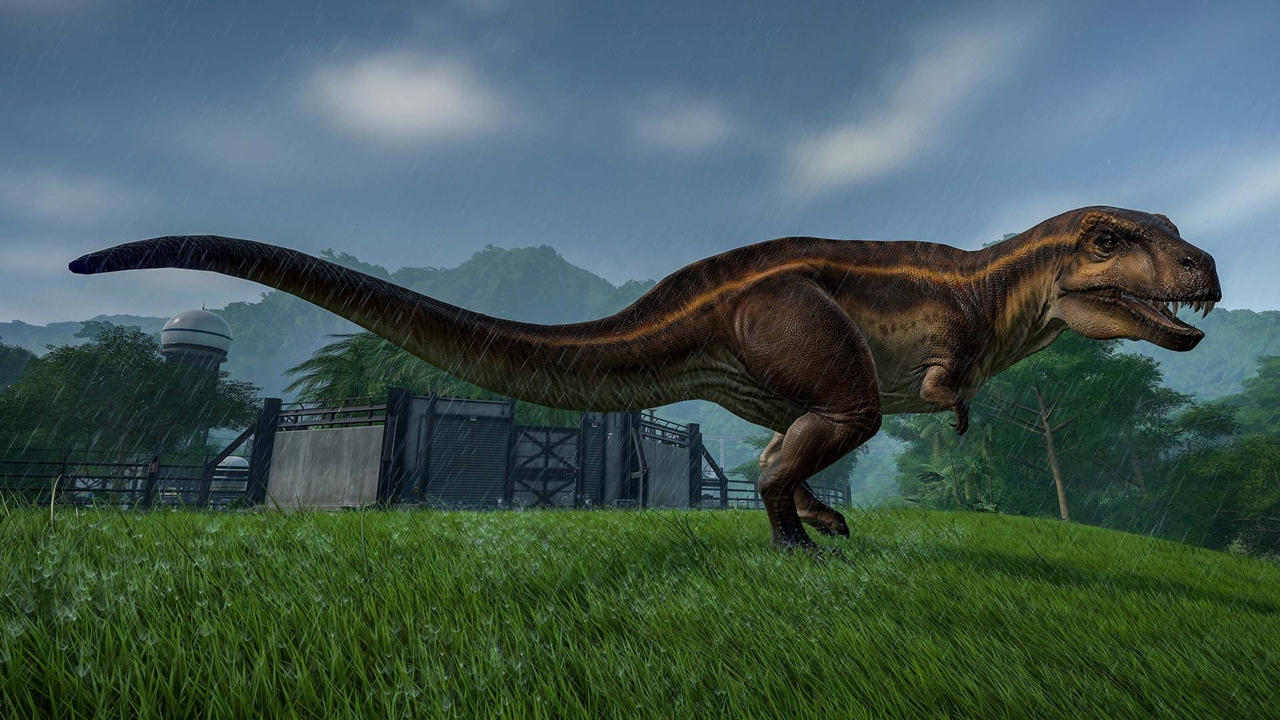 Jurassic World Evolution Acrocanthosaurus