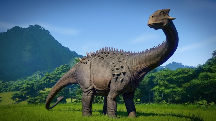 jurassic world evolution Ankylodocus
