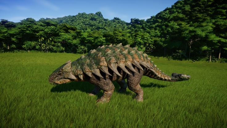 jurassic world evolution ankylosaurus