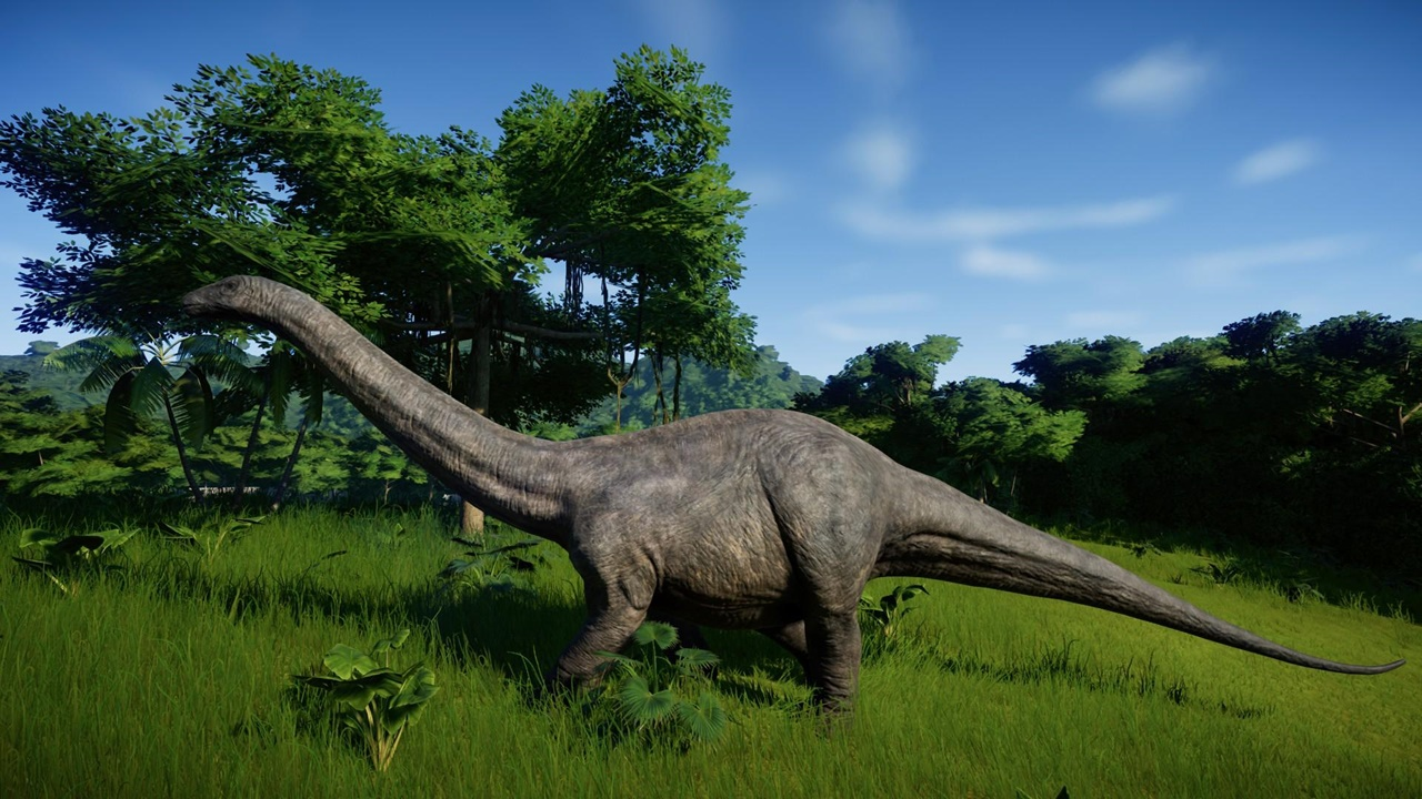 jurassic world evolution Apatosaurus
